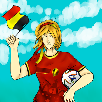 APH Belgium- Fifa 2k14 by Greeceskitty