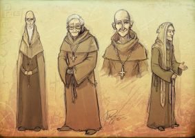 TBH Town Priest Concepts by Reganov