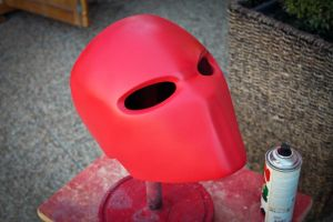 Red Hood Helmet by ArmorCorpCustoms