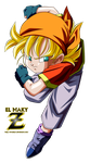 Pan GT Super Saiyan by el-maky-z