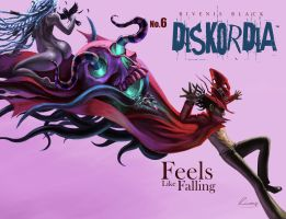 Diskordia Chapter 6 cover by Rivenis