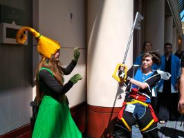 Battle - Kingdom Hearts by katriona-katarina