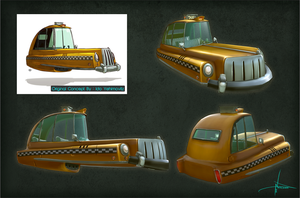 Toon Taxi by Nick-A-D