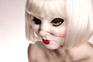 Mask Makeup II by sarakennedy
