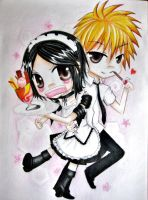misaki and usui by Boopooie