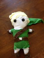 Link Plushie by PuzzleLeafs