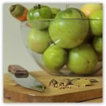 145 - Still life with green tomatoes... by AnnaMagdalenaPe
