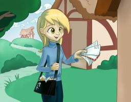 My Little Postman (Humanized Derpy) by CGrey