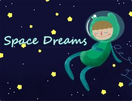 Free Wallpaper: Space Dreams by PintameBonita