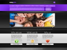 easygoin' website by Gwstyle