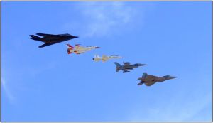Fighter Formation by orcamistress101
