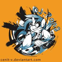 Dj-pon3 redesigned + T-shirt by Cenit-v