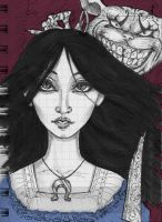 American McGee's Alice sketch by He-de