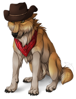 Little cowboy - Commission by Nereiix