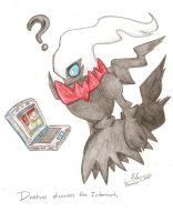 Darkrai Discovers the Internet by HirokoTheHedgehog