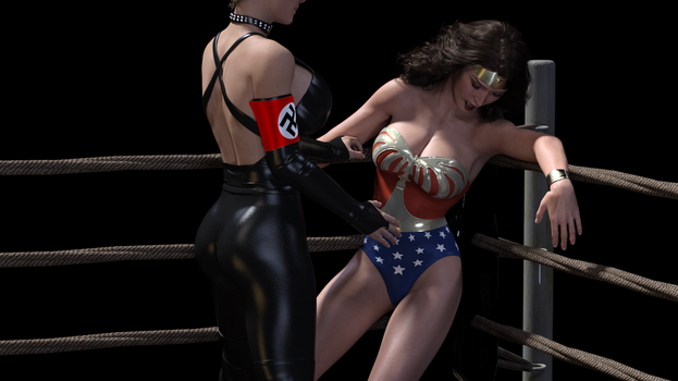 Wonder Woman v Fausta - favorites 04 by rustedpeaces