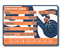 Trainer sprite by Lordkazeh