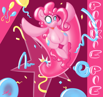 Here's Pinkie! by grayscalerain