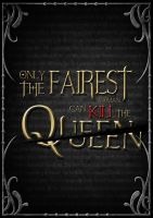 Typography Poster Design_ The Fairest Queen by lok0822