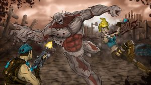 Gears of War 3 Contest by Duff03