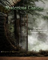Mysterious Castles Backgrounds by Kachinadoll