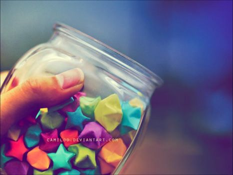 i keep them in a jar. by Camiloo