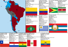 Aftermath Timeline South America Map by tylero79