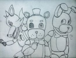 Welcome to Freddy's! (FNAF) by AngelOfThe9thRune