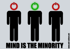 Mind Is The Minority by Omnikron13