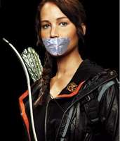 katniss everdeen gagged 2 by gaggeddude32