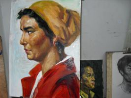 oil painting 2 by curryQ