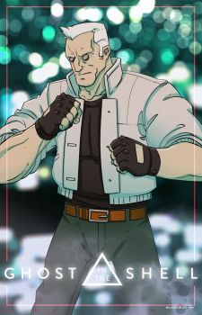 Batou by MichaelBills