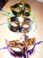 party masks by crysann