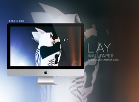 EXO Wallpaper: LAY - 001 by sarielk