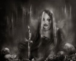 the enlightened darkside by L-A-Addams-Art