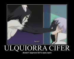 Ulquiorra does not approve by Sprky2008