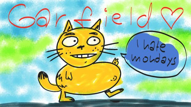 GARFIELD by MarkP0rter