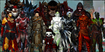 All my Guild Wars 2 characters *.* 2 by BlackStarLGArt