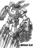 Megas XLR by OptimusPraino