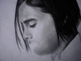 i need quick help! Jared Leto WIP problem.. by DeadlyAngel-Drawings