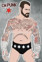 CM Punk: The Best in the World by EadgeArt