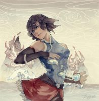 Korra by fish-ghost