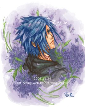 KH2 Zexion by Akuhen