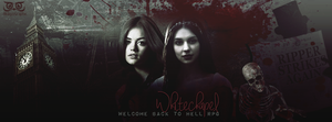 Whitechapel Welcome back to Hell Rpg cover by AkilajoGraphic