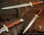 Conan Dagger CPM 3V with Snakewood Handle