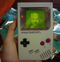 Breaking Bad Gameboy by scribblehscribbleh