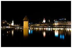 Lucerne By Night by iTux