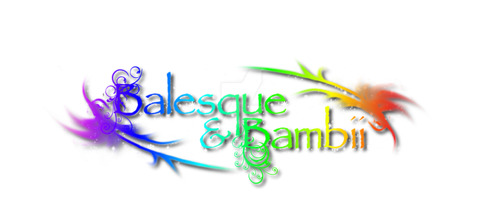 Balesque and Bambii Virtual Store Logo by RogueAsylum