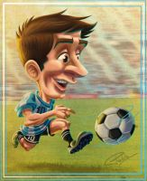 Messi by andretapol