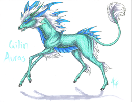 Qilin Aurasyr by SerpentScorch